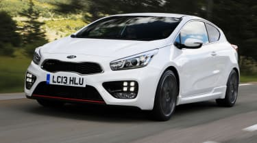 Kia pro_cee'd GT front tracking