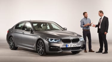 BMW 5 Series - studio with Wolfgang Hacker