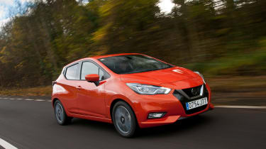 New Nissan Micra - front action