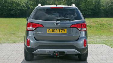 Used Kia Sorento - full rear