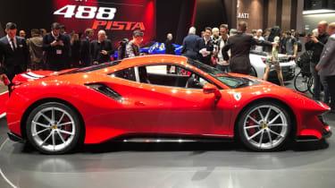 Ferrari Pista Geneva Motor Show 2018