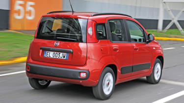 Fiat Panda TwinAir rear tracking