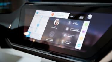 Audi Virtual Dashboard - demo model close 2
