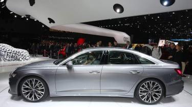 New Audi A6 - Geneva side