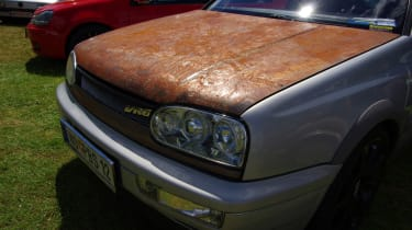 Rusty bonnet - Worthersee