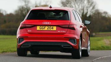 Audi A3 40 TFSI e PHEV - rear cornering