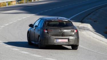 New Toyota Auris spied rear