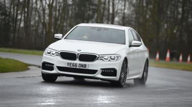 BMW 520d - front cornering