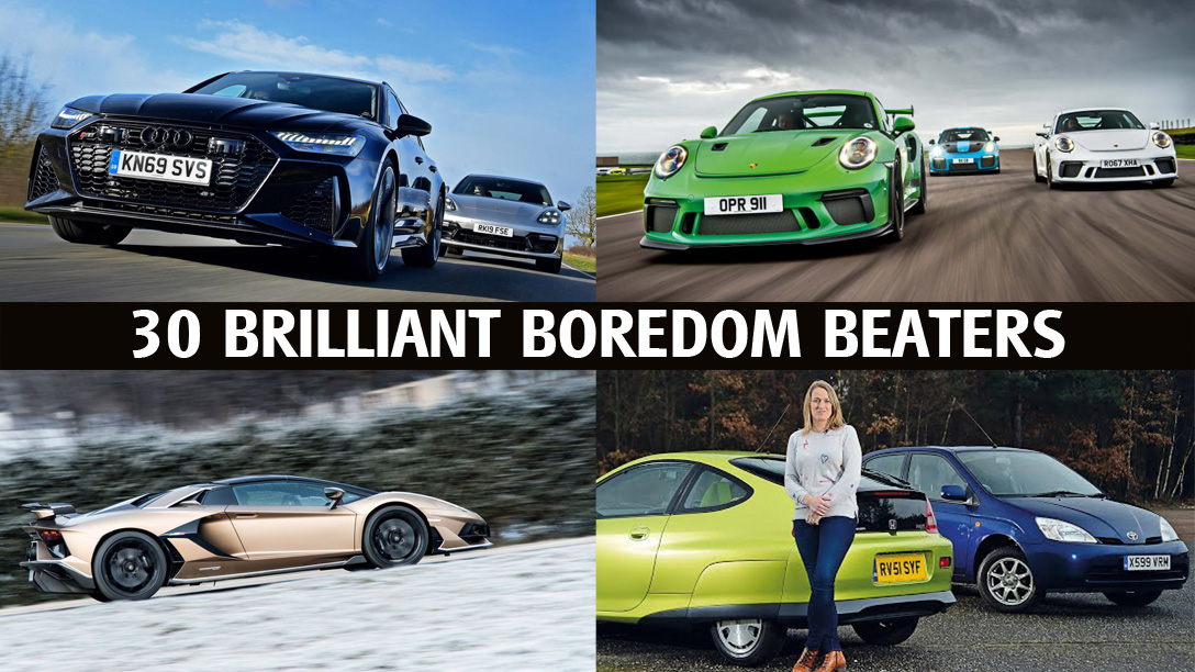 30 brilliant boredom beaters for car fans