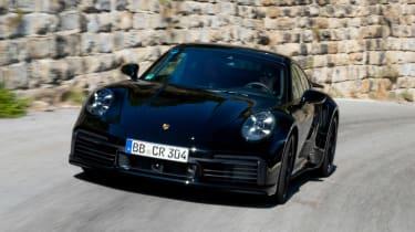 Porsche 911 Turbo prototype - front action