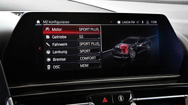BMW M8 - infotainment