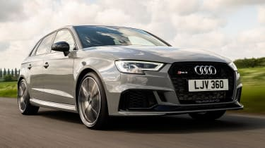 Audi RS3 - front tracking