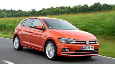 Volkswagen Polo - front action