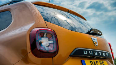 Dacia Duster - tailgate