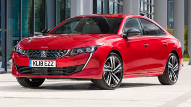 New Peugeot 508 GT 1.6 turbo static front