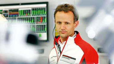 Porsche technical director LMP1 Alexander Hitzinger
