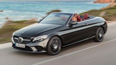 New Mercedes C-Class Cabrio - front