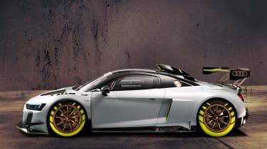 Audi R8 LMS GT2 - side