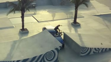 Lexus hoverboard - high ramp hover