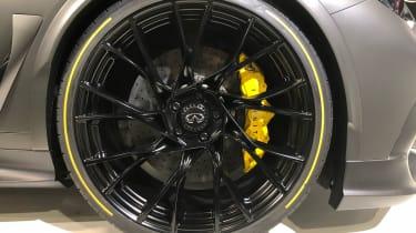 Infiniti Project Black S alloy wheel