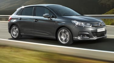 The Citroen C4 is a slightly leftfield alternative to the Ford Focus and Volkswagen Golf.