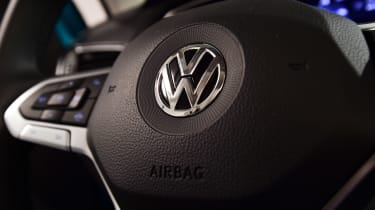 Volkswagen T-Cross - steering wheel detail