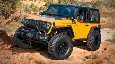 Jeep Magneto concept - front