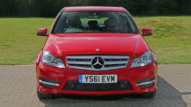 Used Mercedes C-Class - full front
