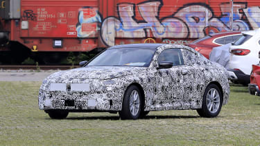 BMW 2 Series spy - front