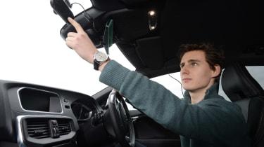 BMW 3 Series M Sport - front cornering