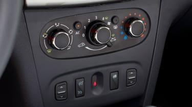 Dacia Sandero Stepway interior detail