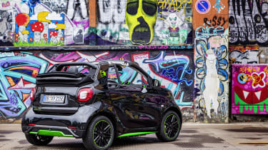 Smart ForTwo Cabrio Electric Drive - rear static