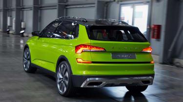 Skoda Vision X concept - rear action
