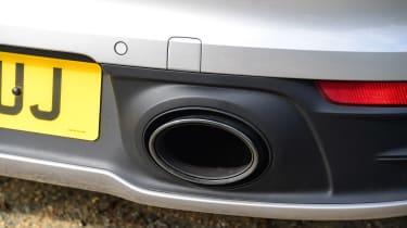 Porsche 911 Cabriolet - exhaust