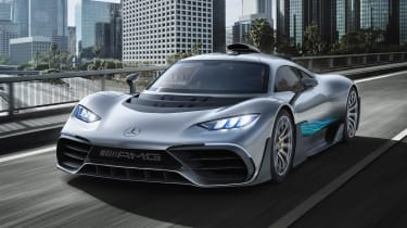 Mercedes-AMG Project ONE - front tracking