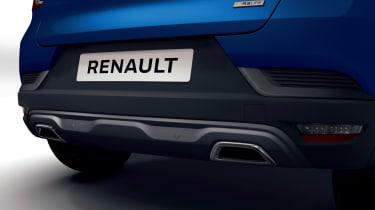 Renault Captur R.S. Line - exhausts
