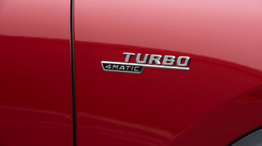 Mercedes-AMG GLA 35 - Turbo badge