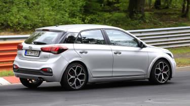 Hyundai i20 N - spyshot 9