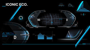 New BMW iDrive tech - eco