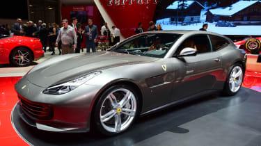 Ferrari GTC4 Lusso - Geneva show front/side