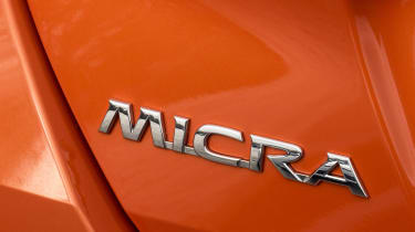 New Nissan Micra - Micra badge