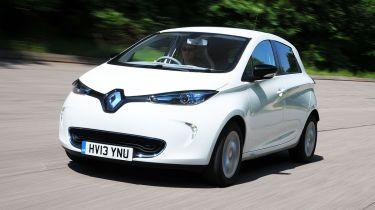 Renault Zoe front action