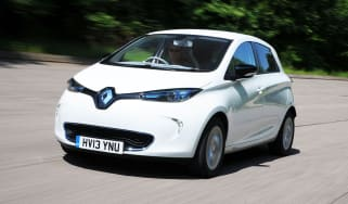 Renault Zoe front action