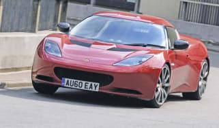 Lotus Evora S cornering