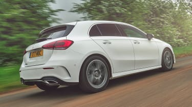 Mercedes A-Class - rear tracking