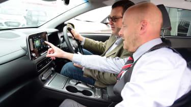 Hyundai Kona Electric Premium SE - long term first report interior