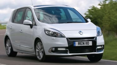The Scenic is Renaults answer to the Volkswagen Touran and Citroen C4 Picasso.