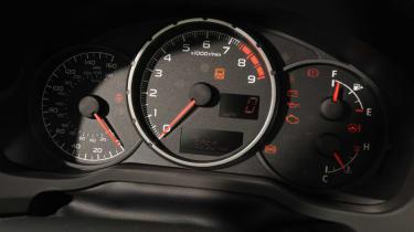 Subaru BRZ dials