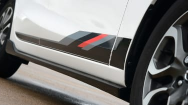 Mazda 2 Sport Black sill