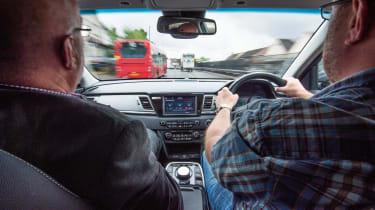 Eco driving tips - Kia e-Niro - interior